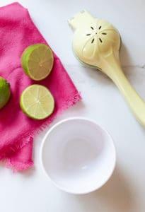fresh lime juice squeezer