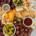 Southern Cheese & Charcuterie Board
