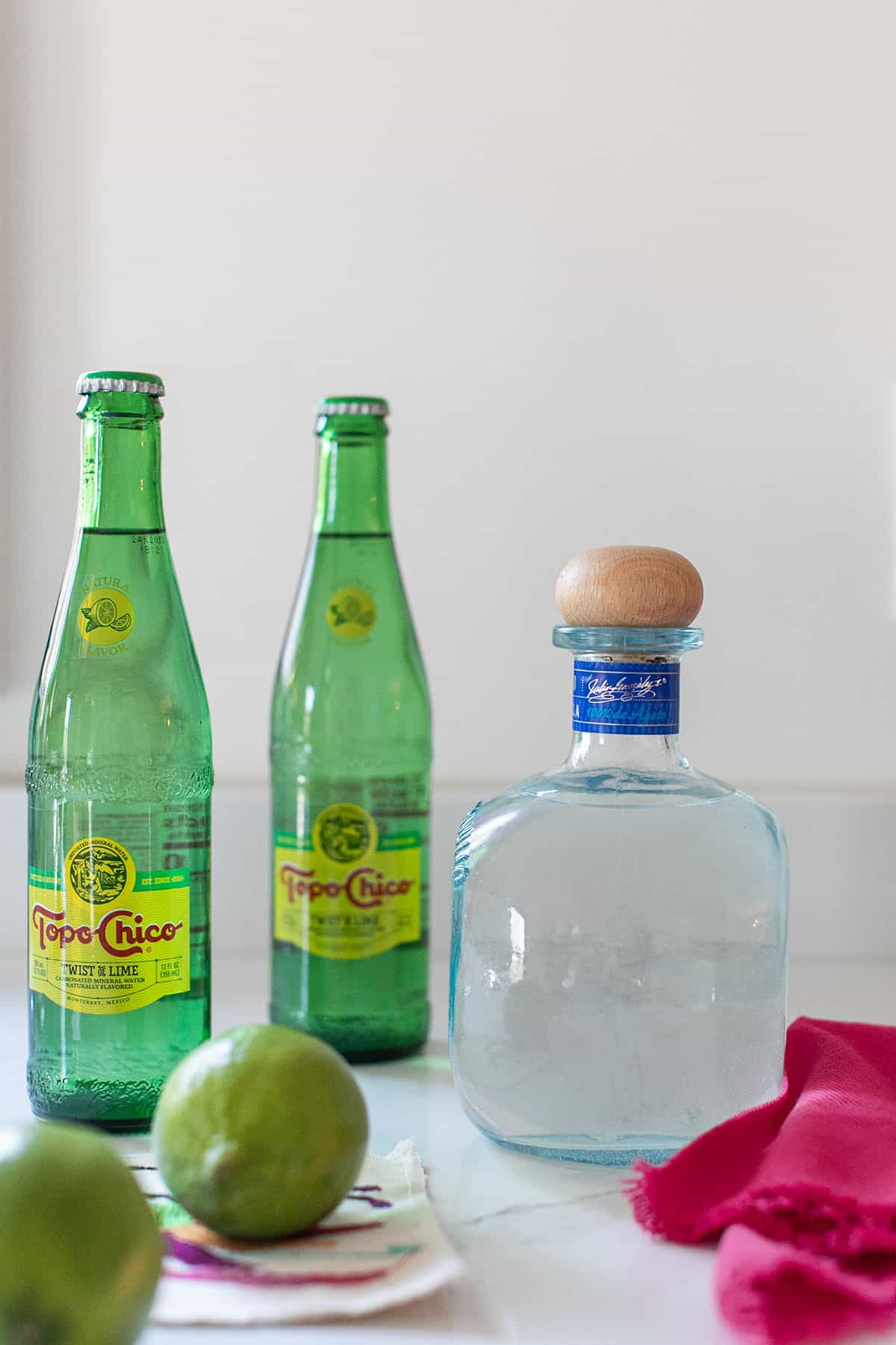 tequila and topo chico