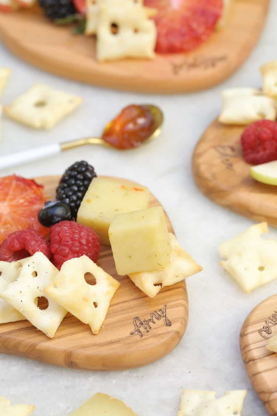 personalized cheese boards