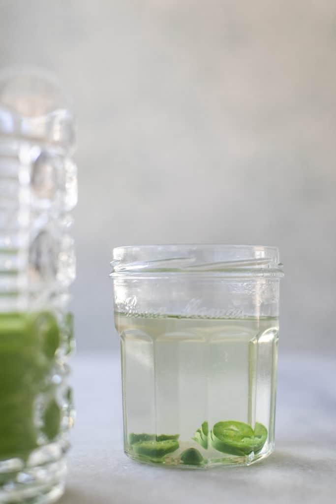 jalapeño infused tequila