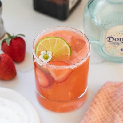 Refreshing Strawberry Margarita Recipe