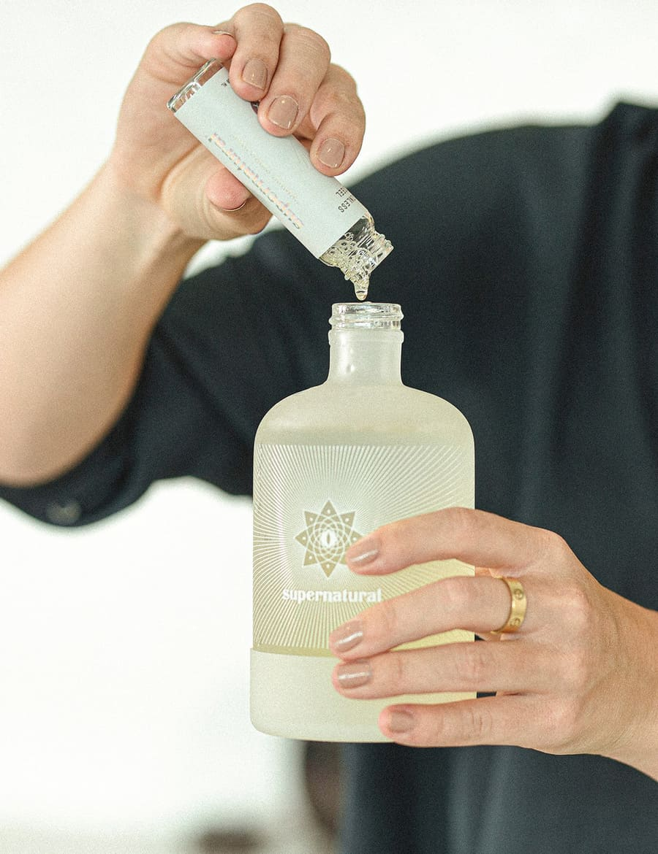 Supernatural cleaning bottle