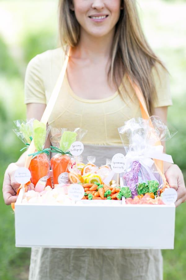 Easter dessert ideas candy box