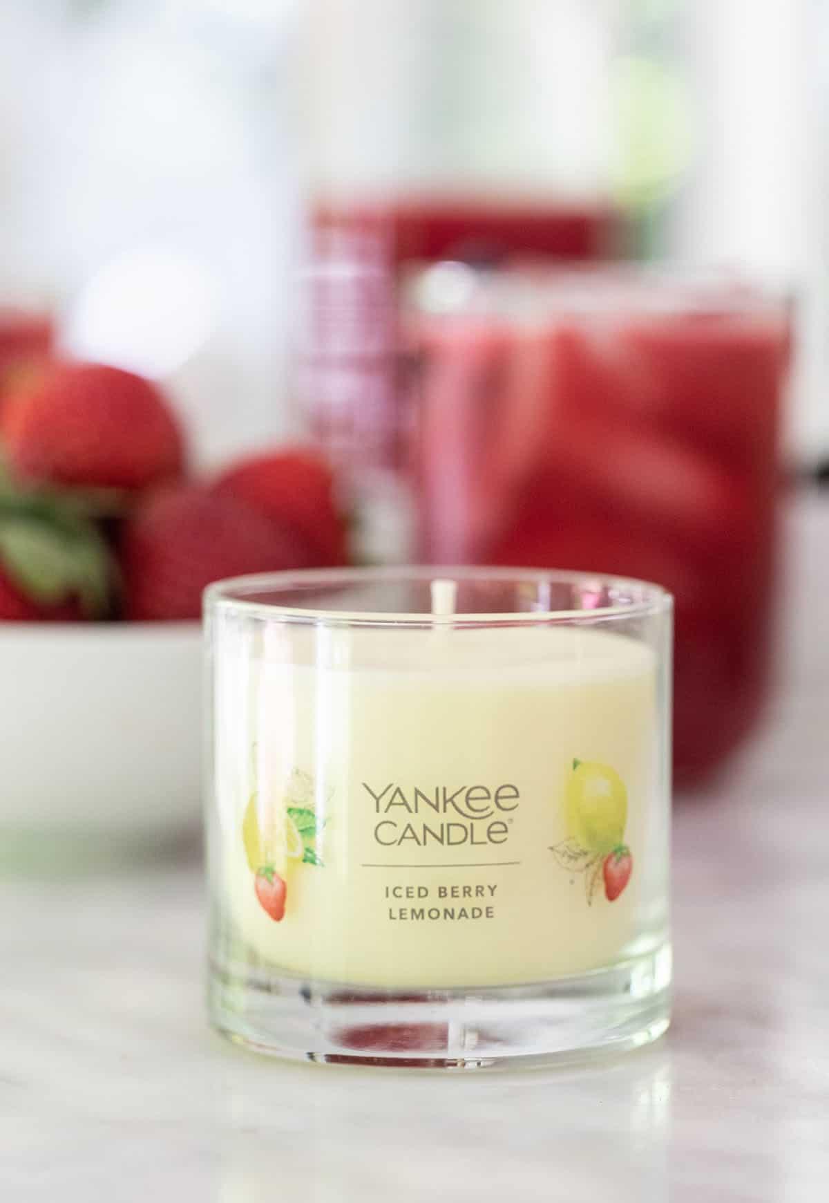 Yankee Candle Iced Berry Lemonade