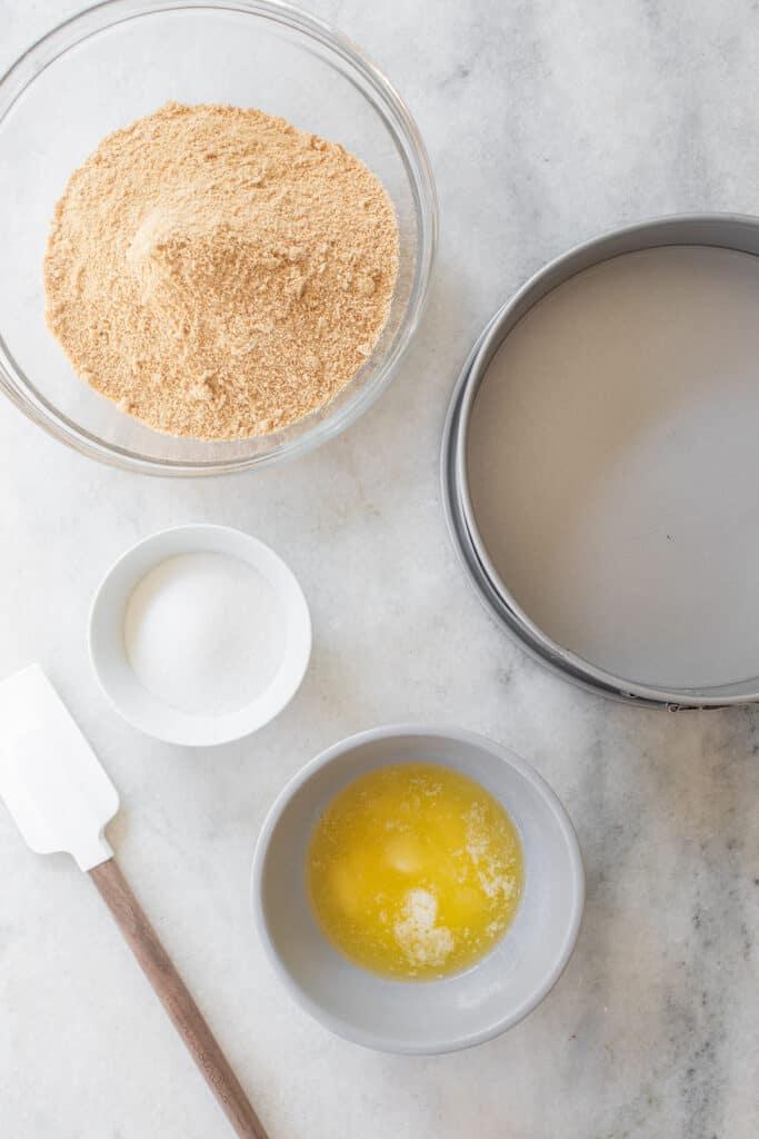 graham cracker crust ingredients