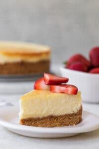 The Best Homemade Cheesecake Recipe