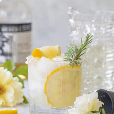 How To Make the Perfect Lemon Margarita