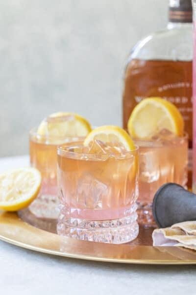 whiskey and lemonade