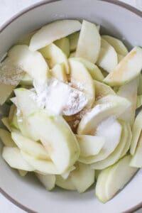 apple crisp filling
