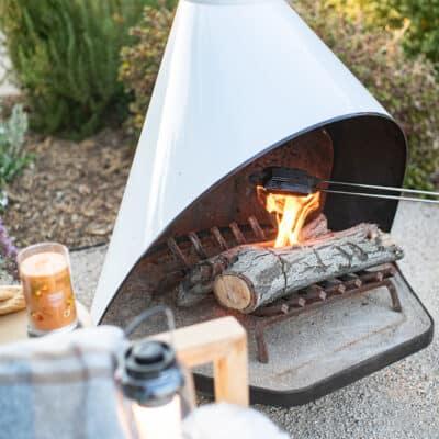 Peach Campfire Pies