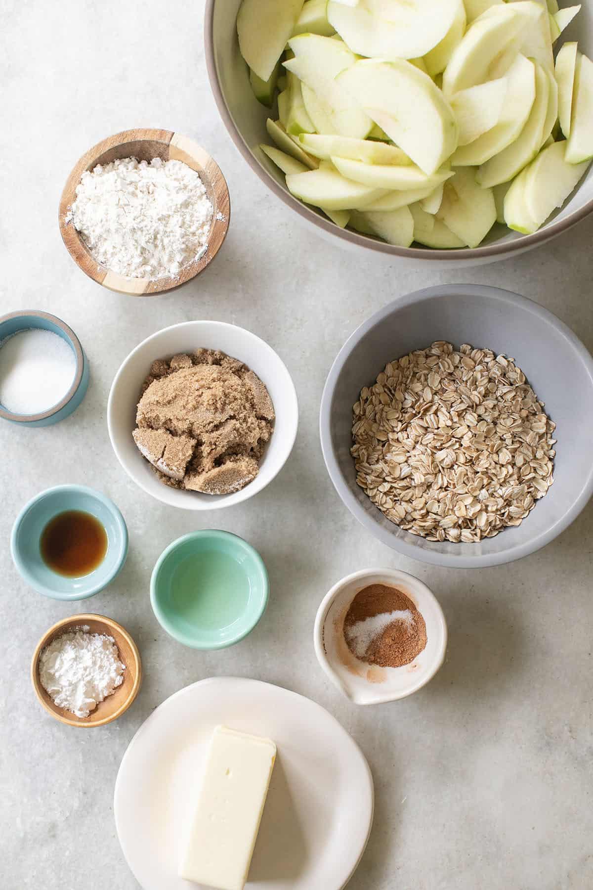 apple crisp ingredients
