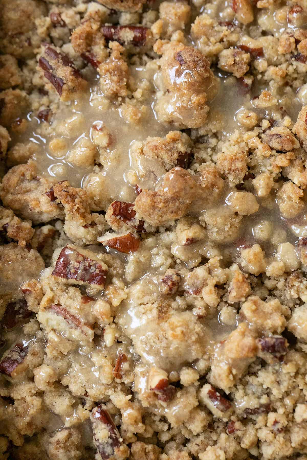crumb cake topping