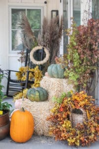 Ideas for How to Style a Fall Porch