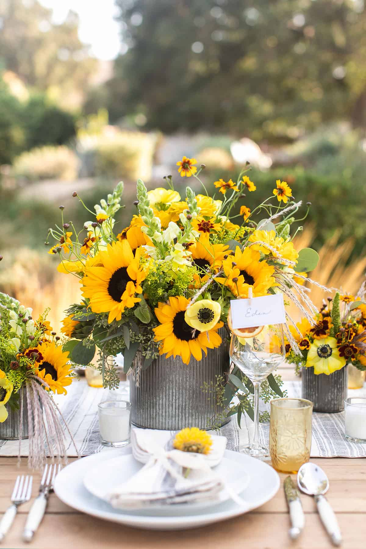 fall harvest ideas with flowers