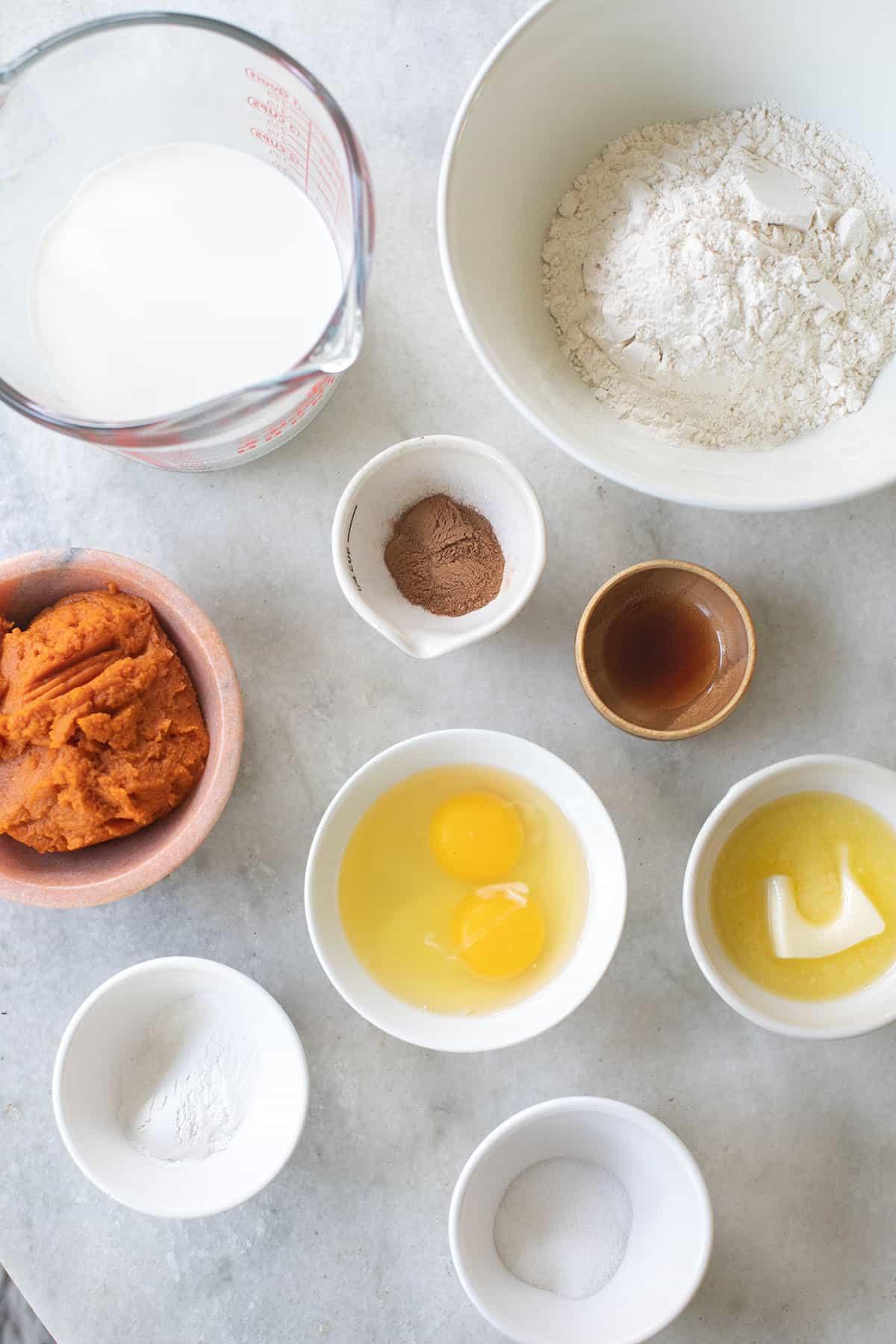 pumpkin pancake ingredients