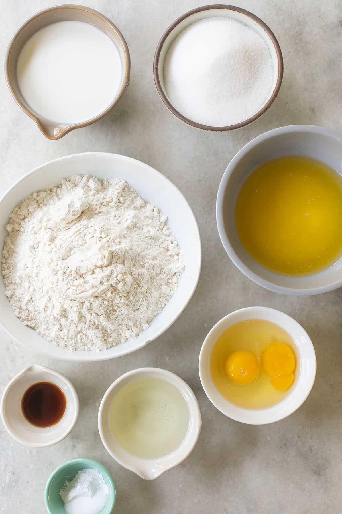 crumb cake ingredients