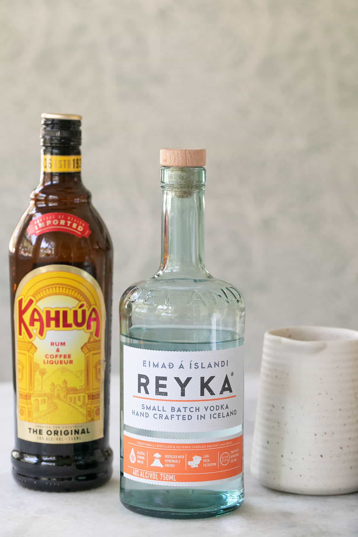 white Russian ingredients