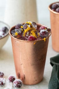 The Best Cranberry Moscow Mule Recipe