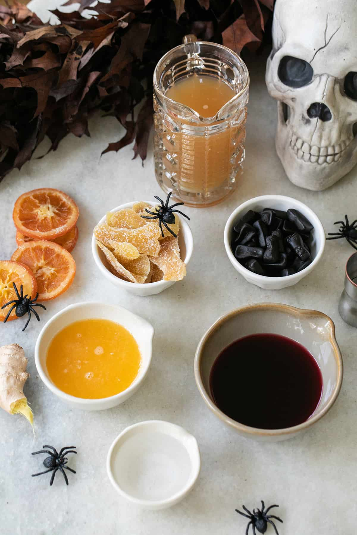 ingredients for witches brew