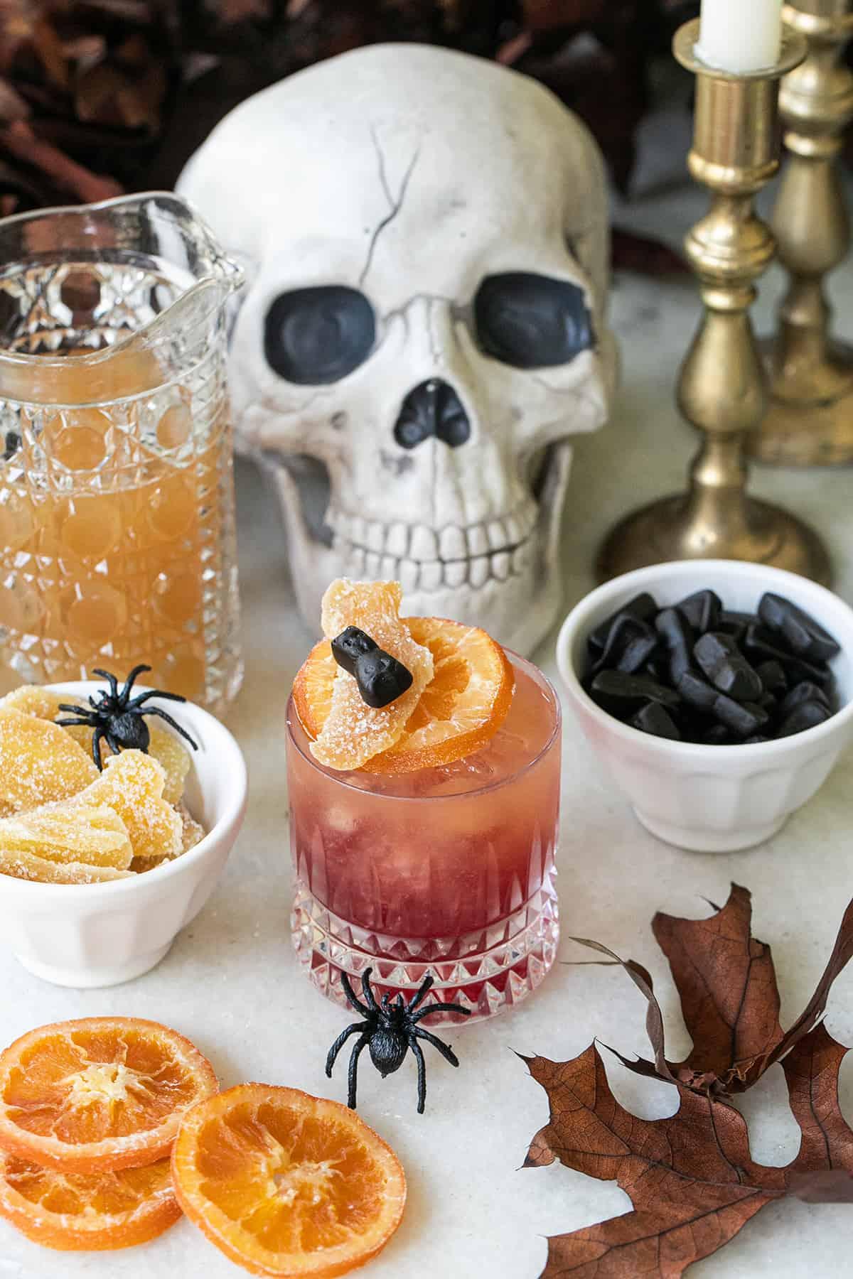 Halloween witches brew drink