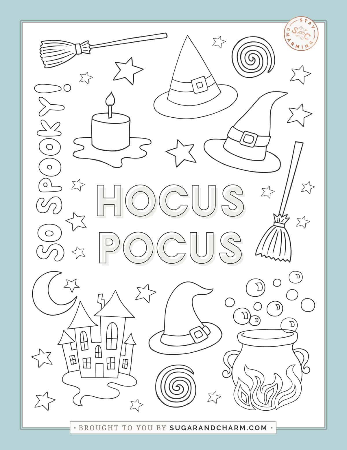 hocus pocus printable